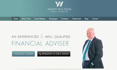 Topic 6.2: Aesthetic and Minimalistic Design - This website keeps the user in mind with its home page layout. If you are looking for a financial advisor, you simply need to contact or call Andy. Those options are immediately available to you. Source: Andy Wilson Financial Services http://andywilsonfs.co.uk/