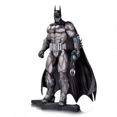 Based on the popular video game, Batman: Arkham City, this statue features the Dark Knight in an armored suit #DCcollectibles #Batman #DaveCortes