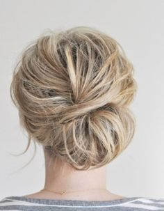 messy updo wedding hairstyles - Google Search