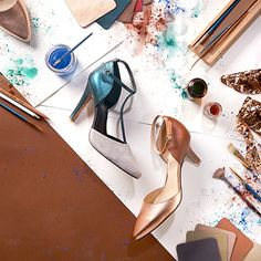You'll always need a go-to neutral shoe — it's the LBD of footwear. If you're seeking a new neutral, then play with the Earth Neutrals palette.