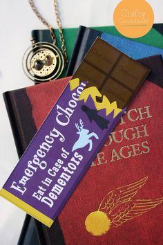 Harry Potter Bookmark: Emergency Dementor by CraftyCrookshanks