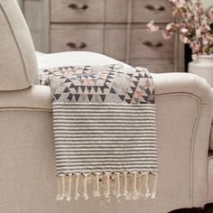 Grey Honeycomb Throw - View All - Shop By Category - New In