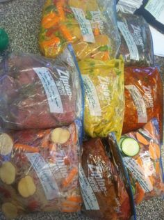Really Easy Healthy Crockpot Meals for FREEZER!