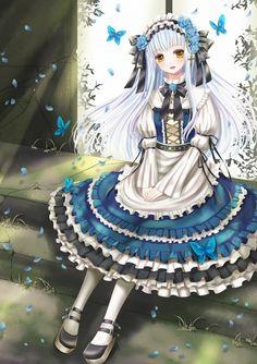 Tags: Anime, Butterfly, Lolita Fashion, Hiroharu