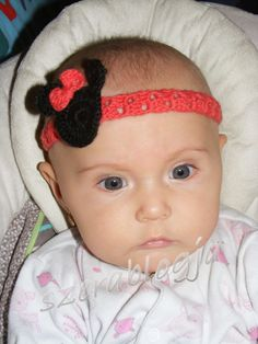 Hajpántok a kislányomnak - Headbands for my daughter Headbands, To My Daughter, Jewelry Making, Crochet, Crochet Hooks, Head Bands, Jewellery Making, Crocheting, Thread Crochet