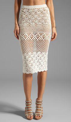 Coconut Crochet Skirt