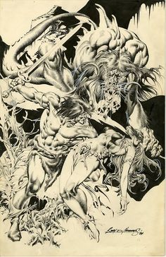 ungoliantschilde:  Conan the Barbarian by Rudy D. Nebres.