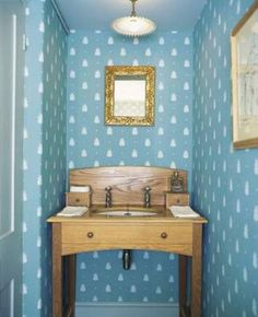 Bumble Bee from Farrow & Ball - really like this in blue