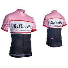 Bellwether Men's Heritage Cycling Jersey Pink XL in Sporting Goods, Cycling, Cycling Clothing Cycling Suit, Cycling Wear, Cycling Jerseys, Cycling Clothing, Jersey Shirt, Long Beach, My Style, Pink, Shirts