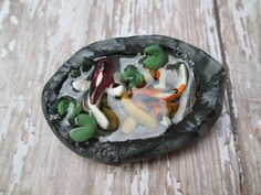 Fairy Garden Miniature Koi Fish Pond by OrangeHound on Etsy