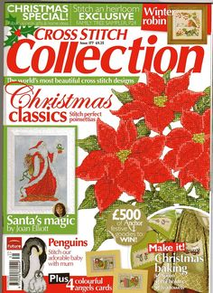 Cross Stitch Collection 177 2009.Christmas Classics;  Christmas Issue