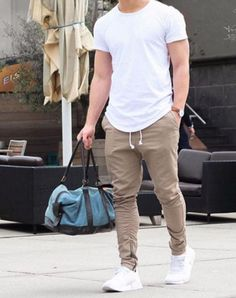 Cool mens gym and workout outfits style 23