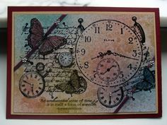 WT371 Just in time for... by niki1 - Cards and Paper Crafts at Splitcoaststampers