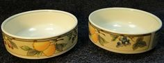 Find Mikasa Garden Harvest Intaglio Berry Bowls, Fruit Bowls or Dessert Bowls and other Replacement Dinnerware items in our Store Casual Dinnerware, Vintage Dinnerware, Mikasa, Hurricane Lamps, Love Garden, Dessert Bowls, Cereal Bowls, Dog Bowls, Decorating Your Home