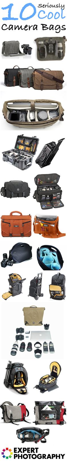 10 Seriously Cool Camera Bags