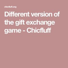 Different version of the gift exchange game - Chicfluff Office Christmas Party Games, Christmas Games For Adults, Auction Games, Gift Exchange Games, Christmas Sweaters, Loom Knit, Holiday, Gifts, Christmas Ideas