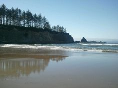 Bastendorf beach. Charleston, Oregon
