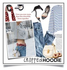 """""""Cute Trend: Cropped Hoodies"""" by ewa-naukowicz-wojcik ❤ liked on Polyvore featuring River Island, J.Crew, Gucci, Chloé, 3.1 Phillip Lim, Givenchy and CroppedHoodie"""