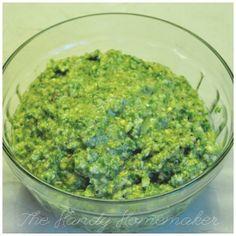 Mint Pistachio Pesto recipe!