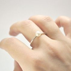 Impressive collection of pearl ring designs  for stylish girls (16)