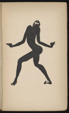 Les memoires de Josephine Baker,Paris,1927 illustration by Paul Colin.