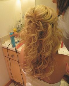 this is the style I want! But more curls (small just like this)