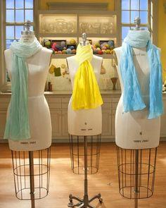 DIY Clothes DIY Refashion: DIY Ombre Scarf