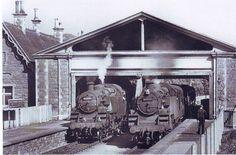CHEDDAR STATION, SOMERSET. **  20.6.1960