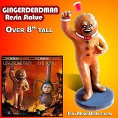 Gingerdead Man Resin Statue