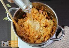 SZÉKELYKÁPOSZTA RECEPT VIDEÓVAL - székelykáposzta készítése Sauerkraut, Cabbage, Grains, Rice, Vegetables, Ethnic Recipes, Food, Goulash Recipes, Veggie Food