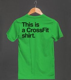 And one t-shirt to rule them all | 27 Gifts For Crossfit-Obsessed People In Your Life