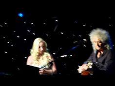 """Brian May and Kerry Ellis """"Born Free"""" at Sunflower Jam  16.09.12 HD"""