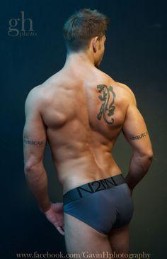 Benji's back ! Another underwear shot of male model Benji by Gavin Harrison. www.facebook.com/GavinHphotography www.faceboo.com/Benjitaylormodel