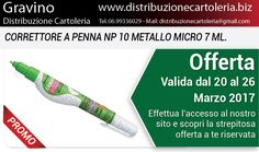 PRODOTTI DELLA SETTIMANA! In offerta dal 20 al 26 Marzo - Consegna in tutta Italia! Per vedere i prezzi clicca qui: http://shop.distribuzionecartoleria.biz/specials.html