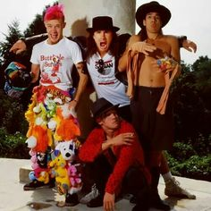 Chad, Flea, John, Anthony Red Hot Chili Peppers