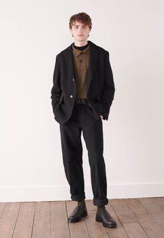 Minimal Classic Style for Men. Looks Dark, Style Minimaliste, Look Man, Look Vintage, Minimal Fashion, Look Cool, Aesthetic Clothes, Menswear, Men Casual