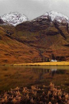 Loch Achtriochtan, Glencoe Scotland
