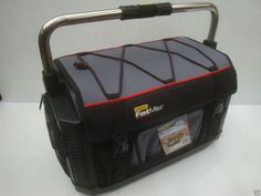 STANLEY FATMAX 20  HARD BASE TOTE TOOL BAG WITH COVER  1 79 213