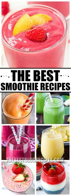 The Best Smoothie Recipe