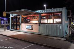 Container bar, container office, cargo container, container house design, s Container Coffee Shop, Container Office, Container Shop, Containers For Sale, Casas Containers, Cargo Container, Shipping Container Restaurant, Converted Shipping Containers, Shipping Container Design