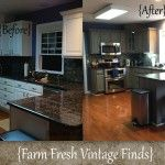 Thermofoil Kitchen Cabinets in Annie Sloan French Linen the Big Reveal!!!