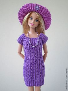 #crochet #Clothes for Barbie #doll