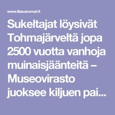 Sukeltajat löysivät Tohmajärveltä jopa 2500 vuotta vanhoja muinaisjäänteitä – Museovirasto juoksee kiljuen paikalle - Kotimaa - Ilta-Sanomat