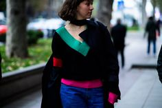 This is NOT a Street Style Blog. This is your photo-journalistic view into the daily world of fashion from cities and Fashion Weeks around the world.