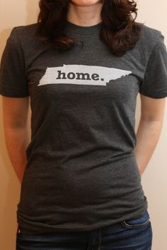 The #Tennessee Home T. Super soft, and a portion of profits are donated to multiple sclerosis research.(http://www.thehomet.com/tennessee-home-t-shirt)