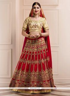 amazing-banglori-silk-red-embroidered-work-a-line-lehenga-choli.jpg (800×1100)
