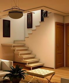 Small Space Staircase, Staircase Design, Minimalist House Design, Modern House Design, Building Stairs, Latest House Designs, House Front Design, Interior Stairs, House Stairs