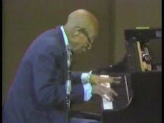Eubie Blake on stage at the age of 98 playing Charleston Rag
