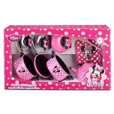 Disney Store Minnie Mouse Clubhouse Kitchen 9 Piece Cooking Accessories Pots and Pans Play Set:Amazon:Toys & Games
