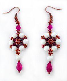 Free pattern for earrings Adriana